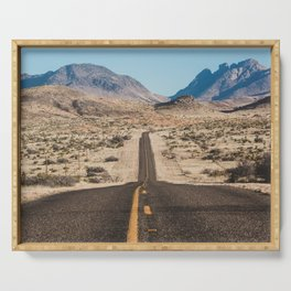 High Desert Highway Serving Tray