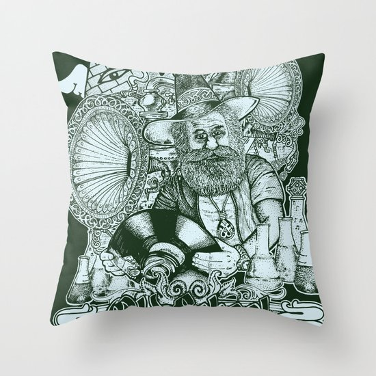 Old School Never Dies Throw Pillow