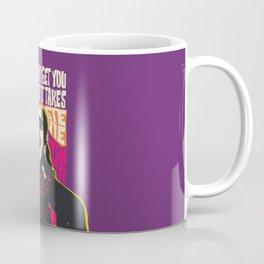 Stevie Wonder Pop Art Quote Portrait Coffee Mug