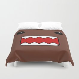 Domo Kun - Brown Japanese Monster Duvet Cover
