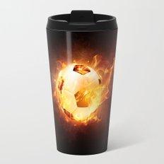 Football, Soccer Ball Travel Mug