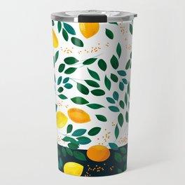 Lemon Orange Travel Mug