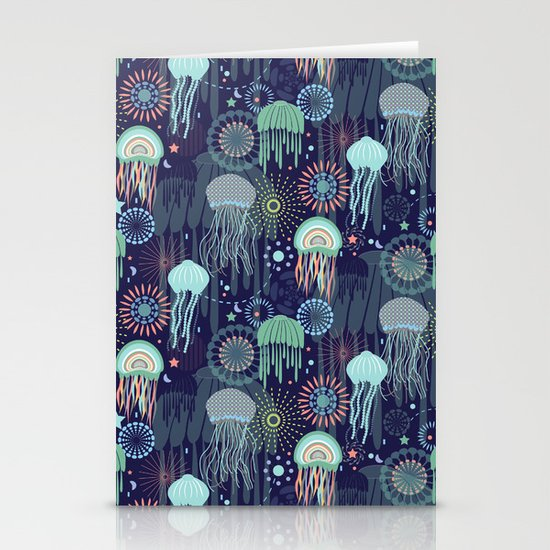 Sparkling Jellies Stationery Cards