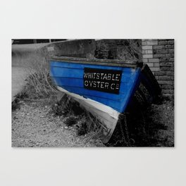 Whitstable Oysters Canvas Print
