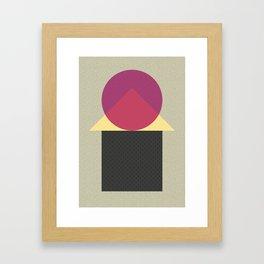 Cirkel is my friend V2 Framed Art Print