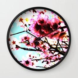 Sakura IX Wall Clock