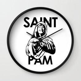 Saint Pam Miss Pamela Des Barres Groupie Wall Clock