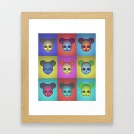Acid Minni Svetlana Framed Art Print