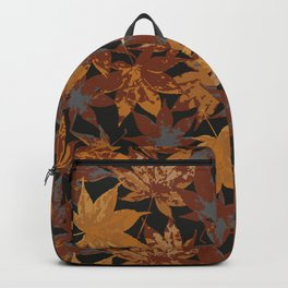 Autumn Maple Leafs Backpack