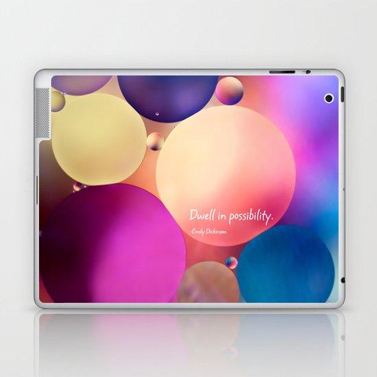 dwell in possiblilty Laptop & iPad Skin