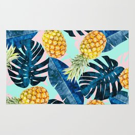 Tropical and exotic composition Rug