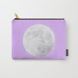 WHITE MOON + LAVENDER SKY Carry-All Pouch