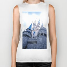 Disney Castle In Color Biker Tank