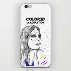 Colored Imagination #2 iPhone & iPod Skin