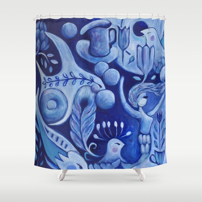 out beyond .... Shower Curtain