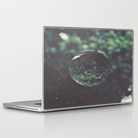 globe Laptop & iPad Skins featuring Snow Globe by Jane Lacey Smith