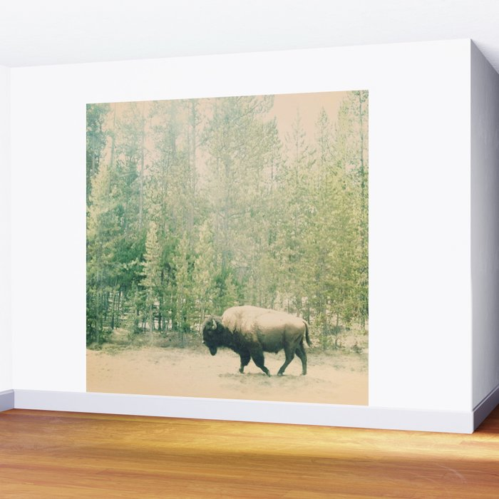 bison I Wall Mural
