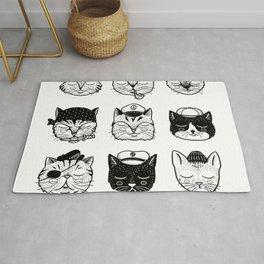 Ocean Cats Rug