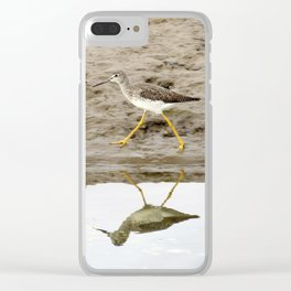 Bird on a Mission Clear iPhone Case