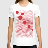 planets T-shirts featuring red planets by Loosso