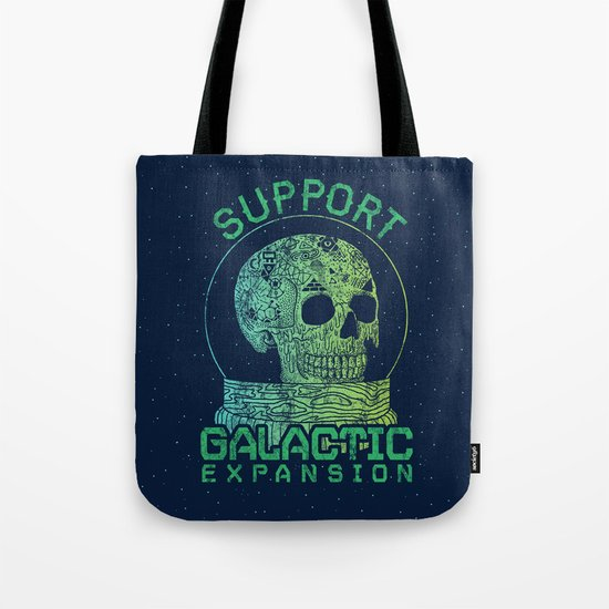 Support Galactic Expansion Tote Bag
