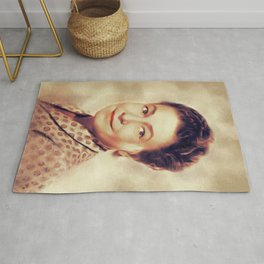 Thelma Ritter, Vintage Actress Rug