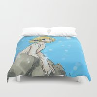 snk Duvet Covers featuring Mer!Armin by Sir-Snellby