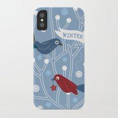 4 Seasons - Winter Slim Case iPhone X