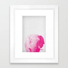 Elephant 02 Framed Art Print