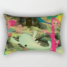 è_DurA_La_ViTA_dei_MostRI Rectangular Pillow