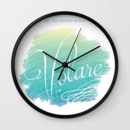 Volare....  Wall Clock