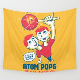 Space Age Suckers Wall Tapestry