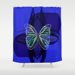 Insect, butterfly Shower Curtain