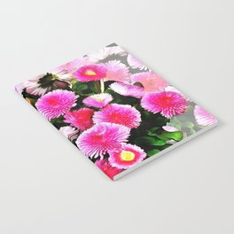 Pink Flower 25 Notebook