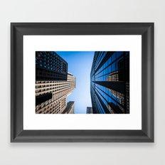 Chicago Buildings Framed Art Print