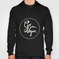 Go Vegan Grey Hoody
