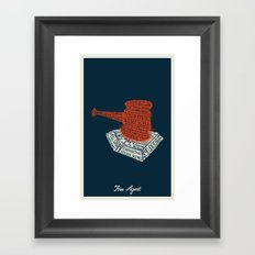 Free Agent Framed Art Print