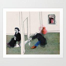 The Monster Series (7/8) Art Print