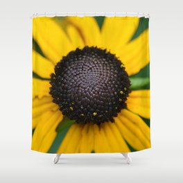 flower center Shower Curtain