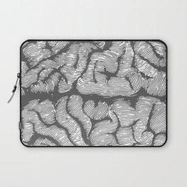 Brain vintage illustration Laptop Sleeve