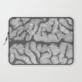 Brain vintage illustration Laptop Sleeve