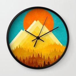 LANDSCAPE XOX Wall Clock