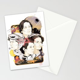 a WOMAN's place is in the resistance Stationery Cards