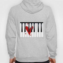 Love Piano Hoody