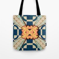zentangle Tote Bags featuring Zentangle by Trevor Seymour
