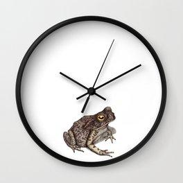 Toad by Lars Furtwaengler | Ink Pen | 2012 Wall Clock