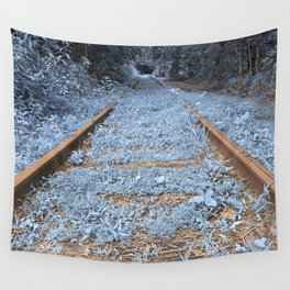 Railway to Blissful Oblivion Wall Tapestry