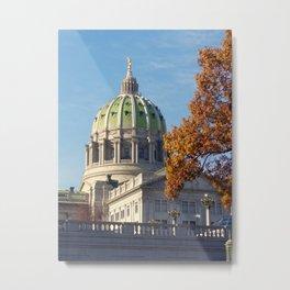 Pennsylvania State Capitol Building Metal Print