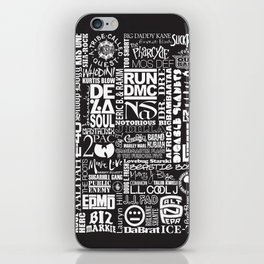 Hip Hop History iPhone Skin