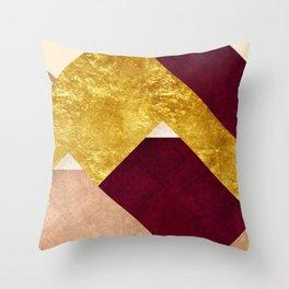 Modern Mountain No3-P2 Throw Pillow